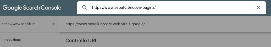 Favorire l'indicizzazione di un sito web su Google attraverso al funzione Controlla URL di GSC
